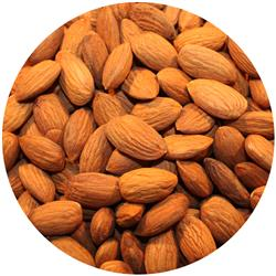 Almonds Raw Carmel