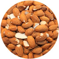 Almond Raw Mfg