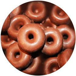 Chocolate Aniseed Rings - Milk