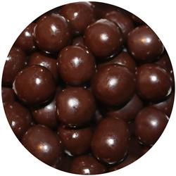 Chocolate Cherry Coconut Balls - Dark