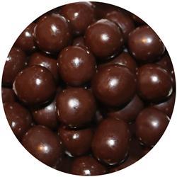 Chocolate Cherry Coconut Balls - Dark