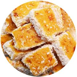 Confectionery Apricot Coconut Slice