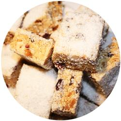Fruit Nut Slice - Coconut