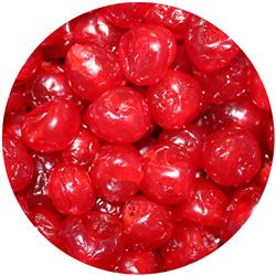 Glace Cherries Red