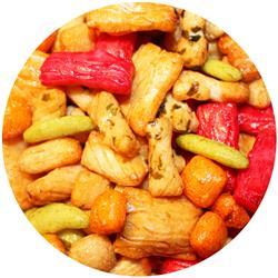 Rice Crackers - Salad